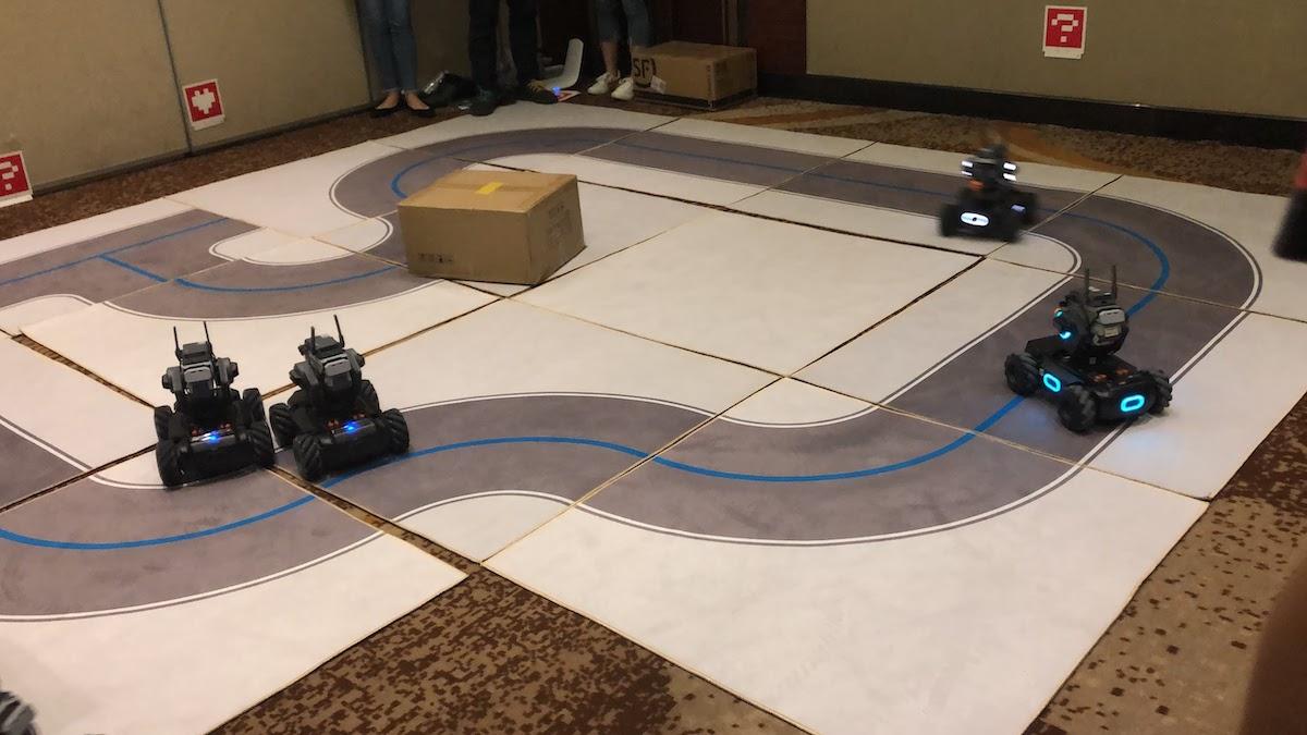 RoboMaster S1を操作