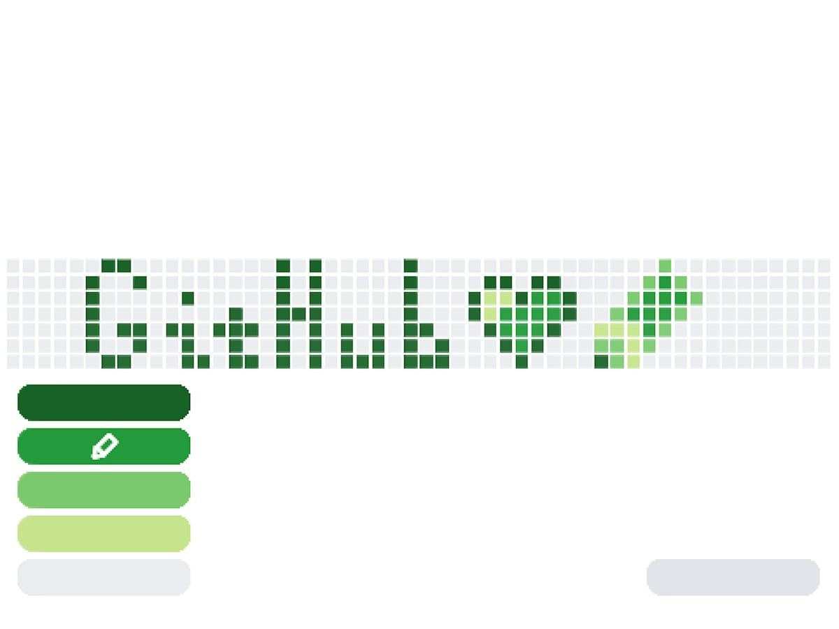 GitHub Style Pixel Art Maker